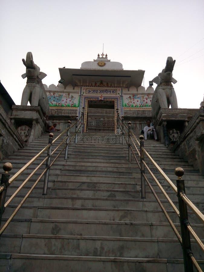 De tempel van Jagdish stock fotografie