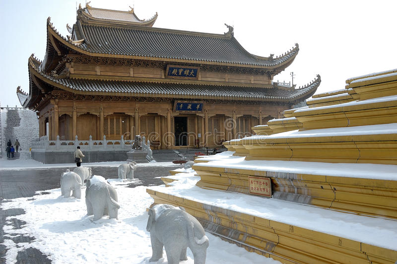 De tempel van Jinding royalty-vrije stock foto