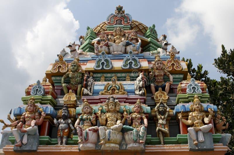 De tempel van Kapaleeswarar in Chennai stock fotografie