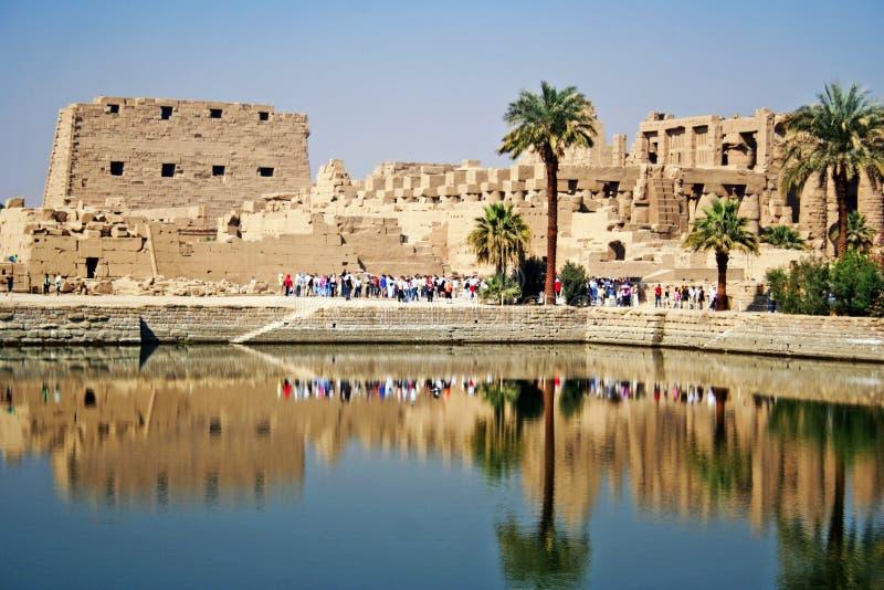 De Tempel van Karnak royalty-vrije stock foto