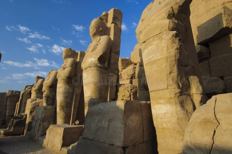 De Tempel van Karnak. Luxor, Egypte royalty-vrije stock fotografie