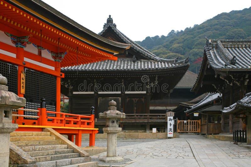 De Tempel van kiyomizu-Dera stock afbeeldingen