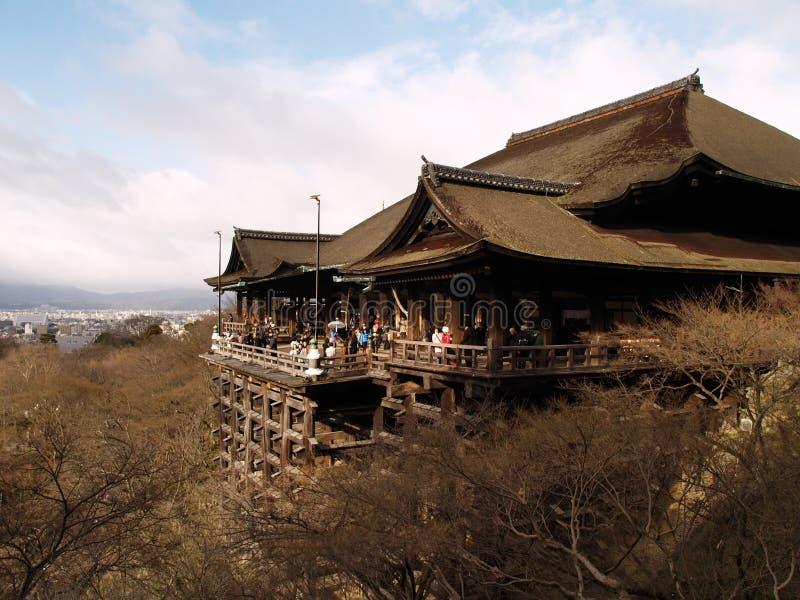 De Tempel van Kiyomizu, Kyoto Japan royalty-vrije stock foto