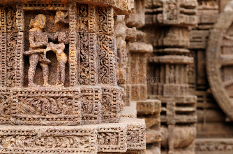 De Tempel van Konarak royalty-vrije stock fotografie
