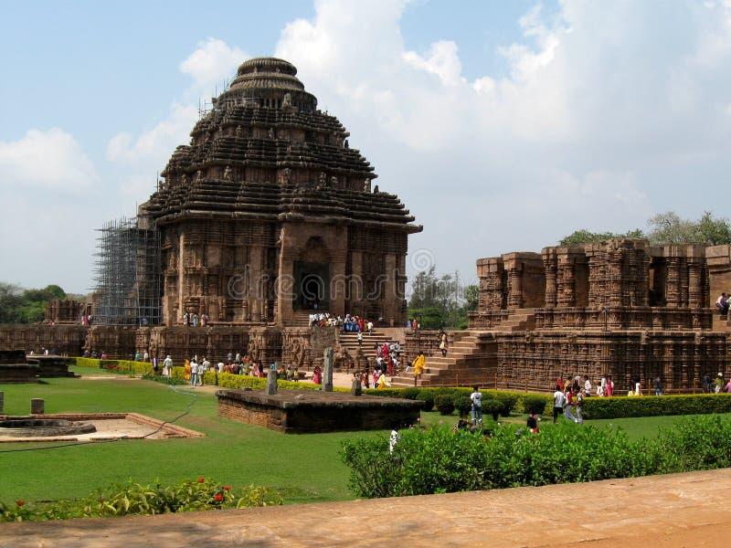 De tempel van Konark royalty-vrije stock fotografie