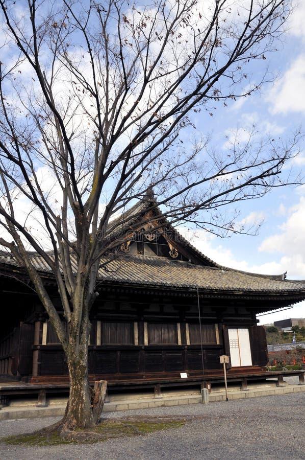 De Tempel van Kyoto stock afbeelding