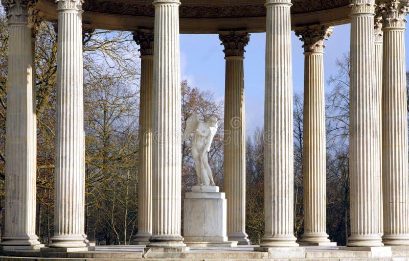 De Tempel van Liefde - Versailles stock afbeelding
