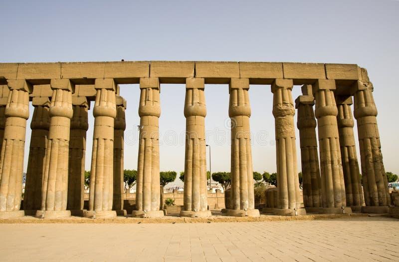 De tempel \ van Luxor royalty-vrije stock foto's