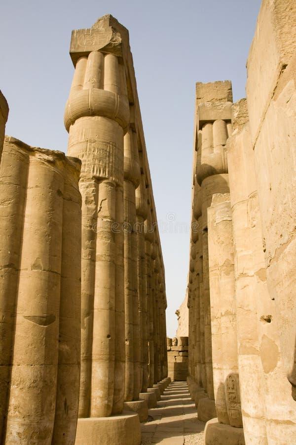 De tempel van Luxor royalty-vrije stock afbeelding