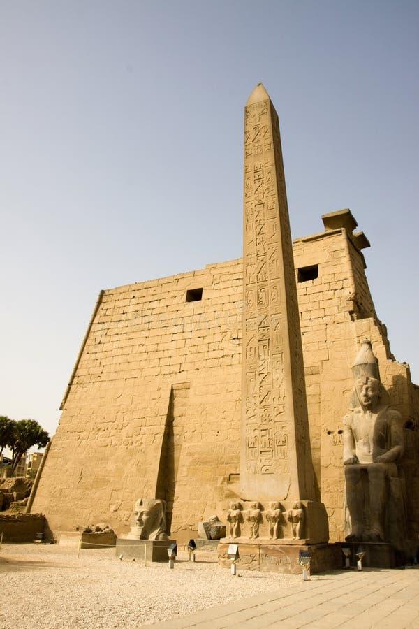 De tempel van Luxor stock foto's