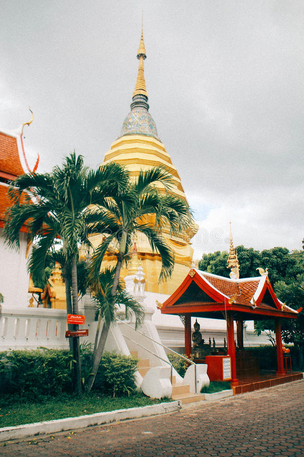 De tempel van MAI van Chiang royalty-vrije stock foto
