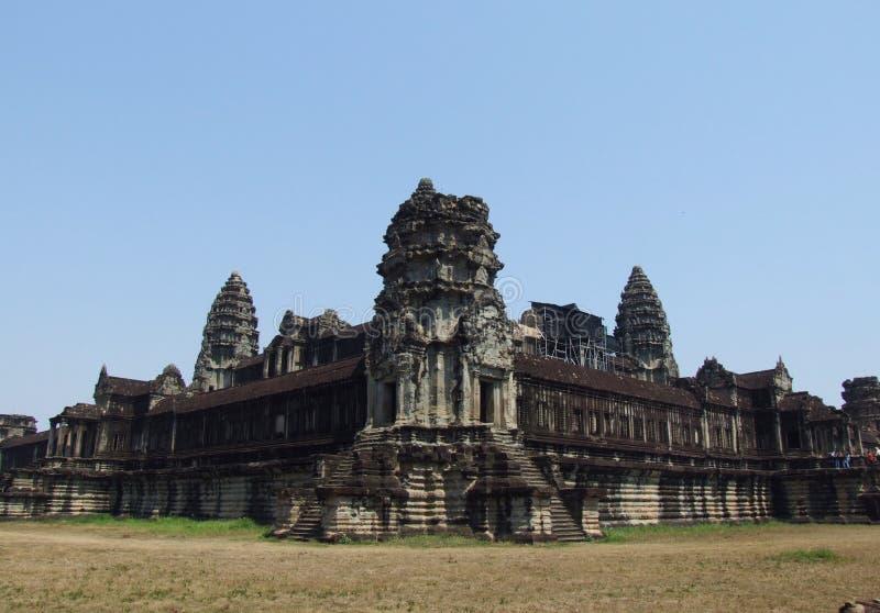 De tempel van mysticusangkor Wat stock fotografie