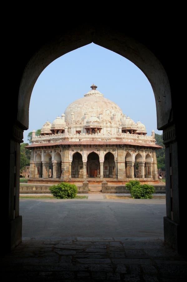 De tempel van New Delhi royalty-vrije stock foto's