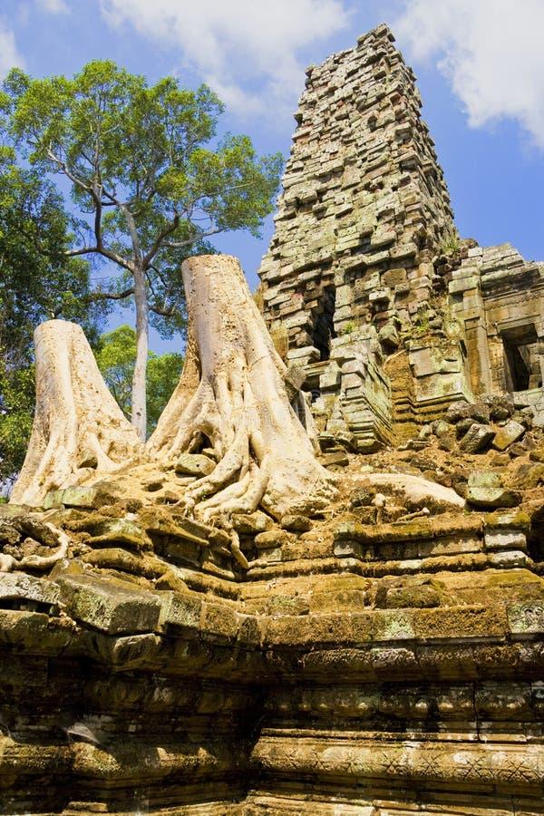 De Tempel van Palilay van Preah, Kambodja stock foto
