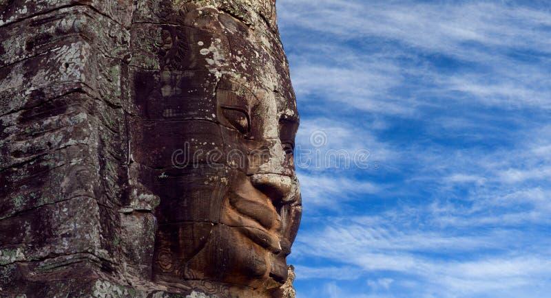 De Tempel van Prasatbayon in Angkor Thom, Kambodja stock afbeelding