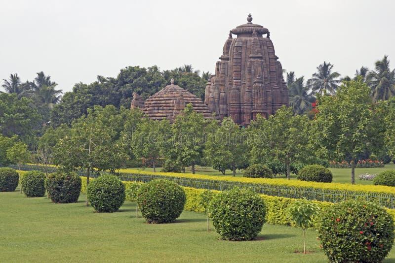 De Tempel van Rajarani stock fotografie