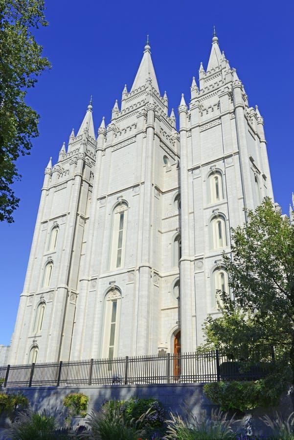 De Tempel van Salt Lake, Salt Lake City, Utah royalty-vrije stock fotografie