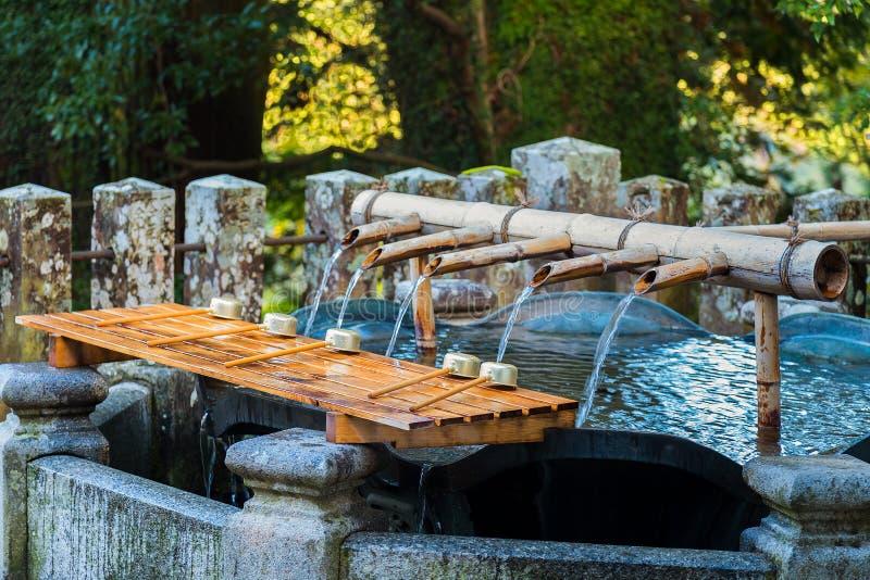 De tempel van Seiganto -seiganto-ji van het reinigingsgebied in Wakayama, Japan stock foto's