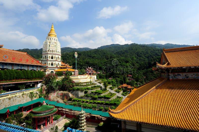 De tempel van Si van Kek Lok stock afbeeldingen