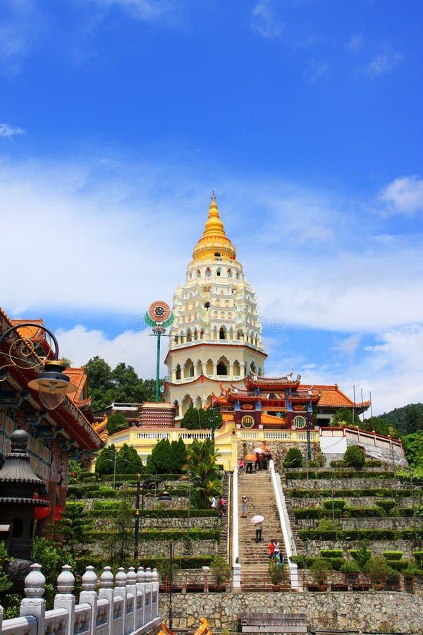 De Tempel van Si van Lok van Kek, Penang. stock foto