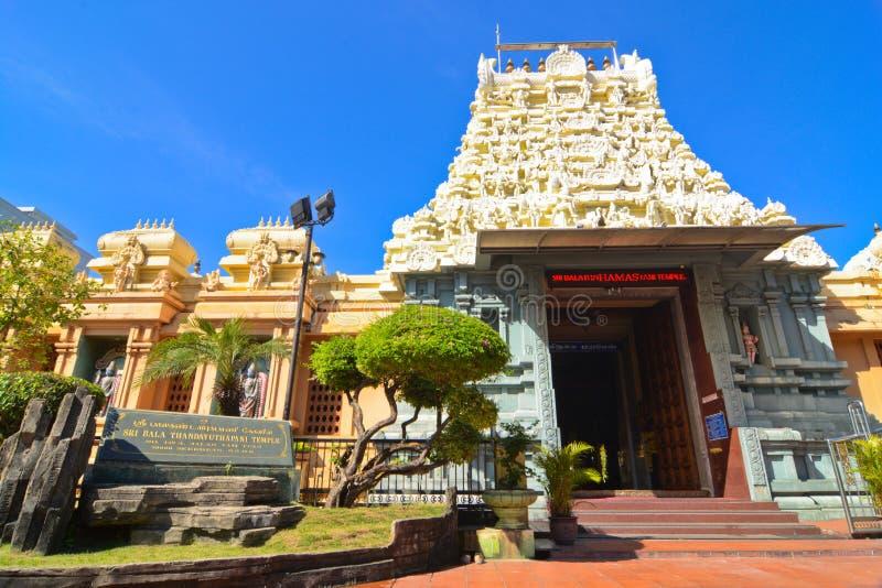 De Tempel van Sribalathandayuthapani - Seremban royalty-vrije stock foto