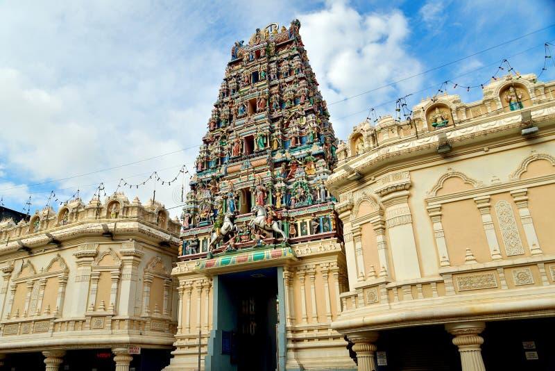 De Tempel van Srimahamariamman, Kuala Lumpur stock afbeeldingen