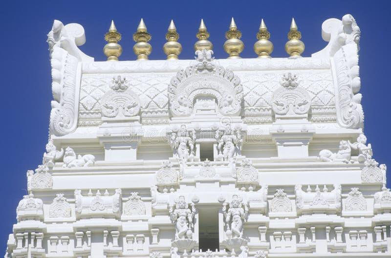 De Tempel van Srivenkateshwara in Malibu Californië stock foto's