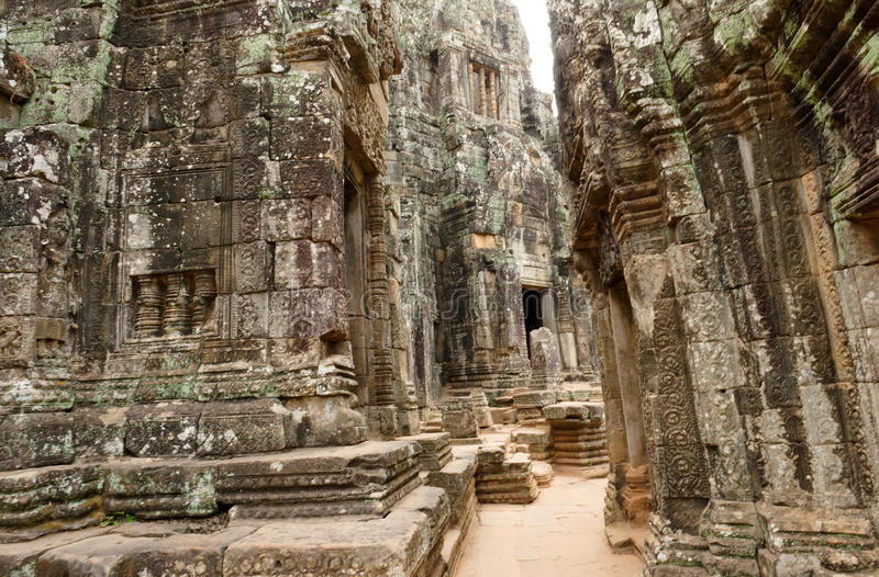 De Tempel van steenbayon, Kambodja royalty-vrije stock fotografie