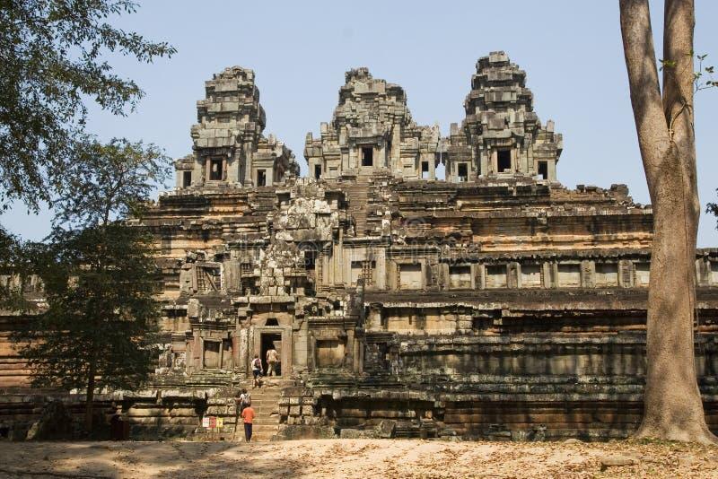 De Tempel van Ta Keo royalty-vrije stock afbeeldingen