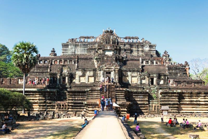 De tempel van Ta Keo in Angkor Wat, Kambodja royalty-vrije stock foto