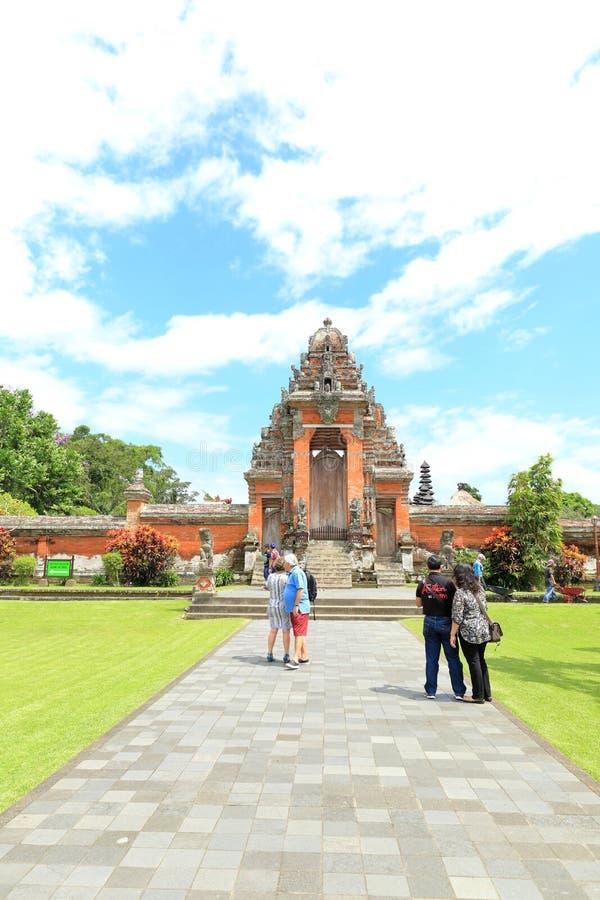De Tempel van Tamanayun (Pura Taman Ayun) stock afbeeldingen