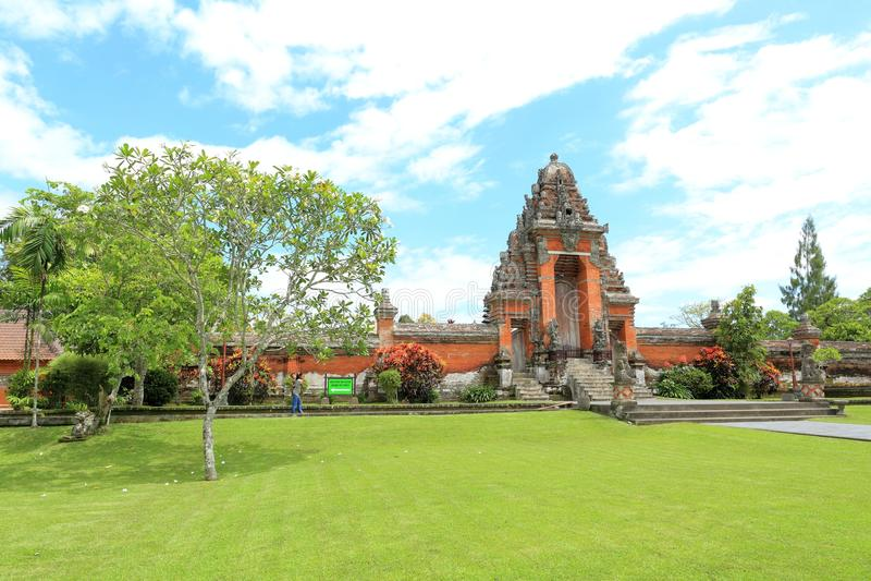 De Tempel van Tamanayun (Pura Taman Ayun) royalty-vrije stock foto's