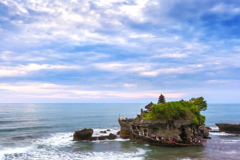 De Tempel van de Tanahpartij, Beraban, Bali, Indonesië royalty-vrije stock afbeelding