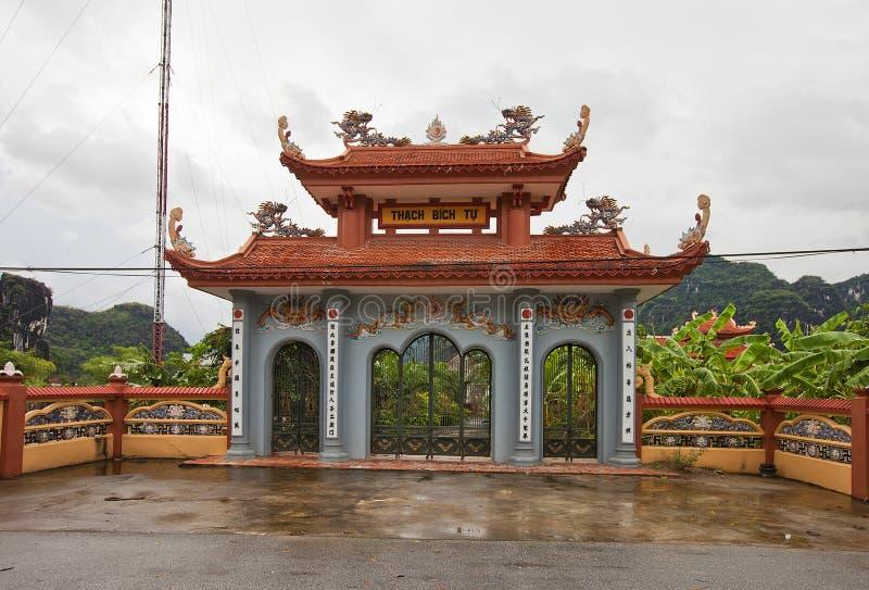 De tempel van Thachbich. Van Lam-dorp, Vietnam royalty-vrije stock foto