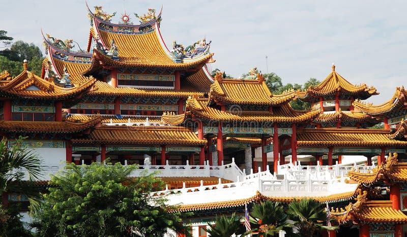 De tempel van Thean Hou royalty-vrije stock foto's