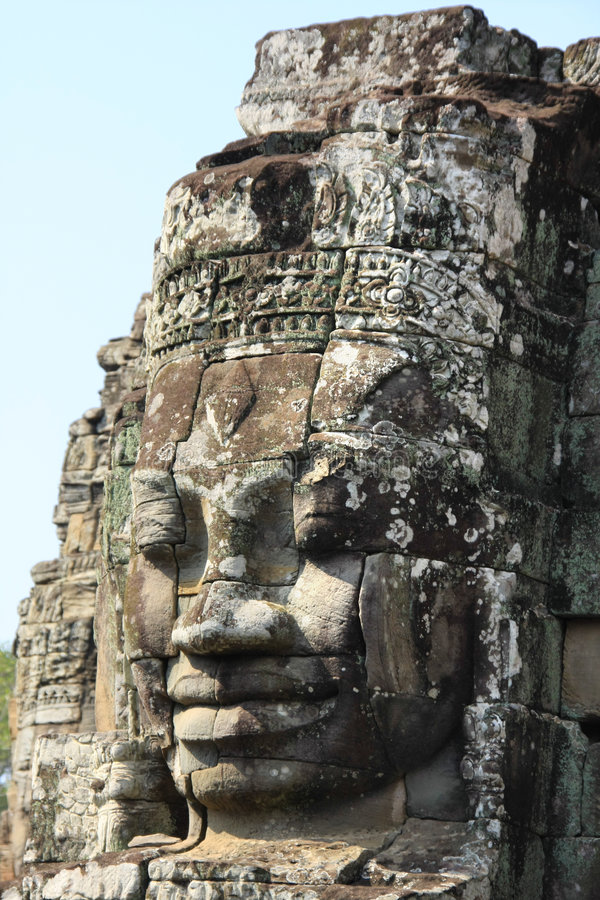 De Tempel van Thom van Angkor royalty-vrije stock fotografie