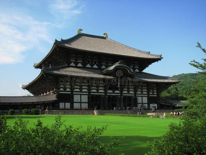 De Tempel van Todaiji royalty-vrije stock foto's