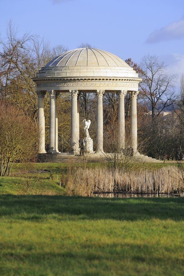 De tempel van Versailles van liefde stock afbeeldingen