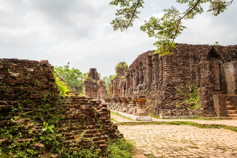 De tempel van Vietnam royalty-vrije stock afbeelding