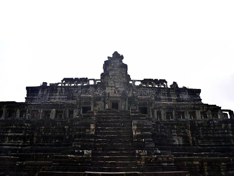 De tempel van Wat van Angkor, Siem oogst, Kambodja royalty-vrije stock foto