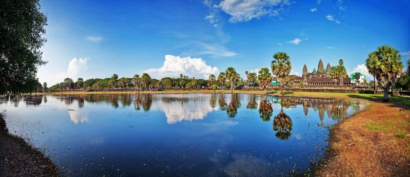 De Tempel van Wat van Angkor royalty-vrije stock afbeelding