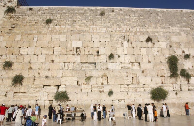 DE TEMPEL ZET IN JERUZALEM OP royalty-vrije stock foto's