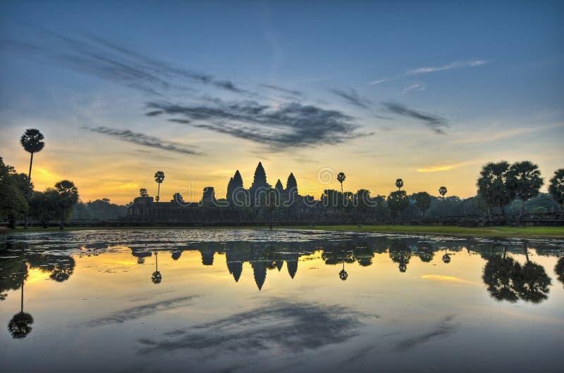 De Tempels van Angkor royalty-vrije stock afbeeldingen