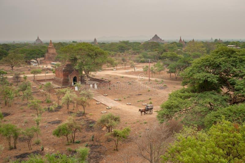 De tempels van Bagan, Myanmar royalty-vrije stock afbeelding