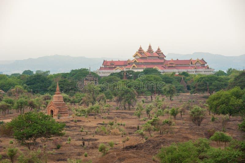 De Tempels van Bagan, Myanmar royalty-vrije stock foto's