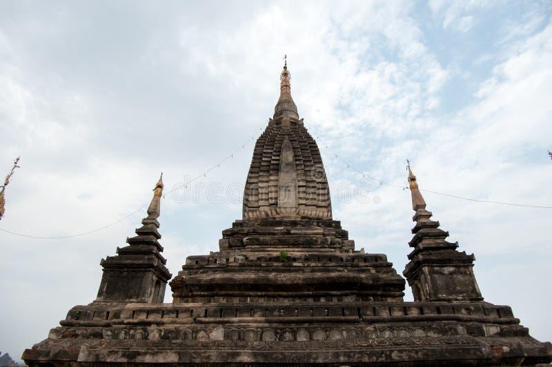 De tempels van Bagan, Myanmar royalty-vrije stock afbeeldingen