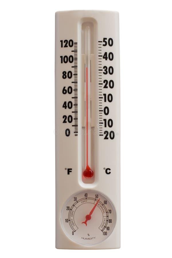 De Temperatuur van de zomer royalty-vrije stock fotografie