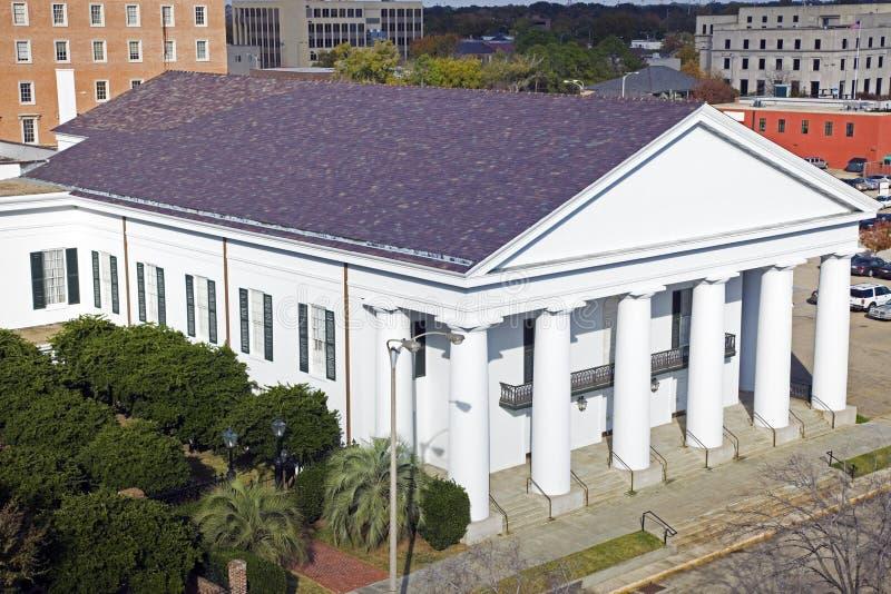 De temple le centre ville dedans de Baton Rouge photos libres de droits