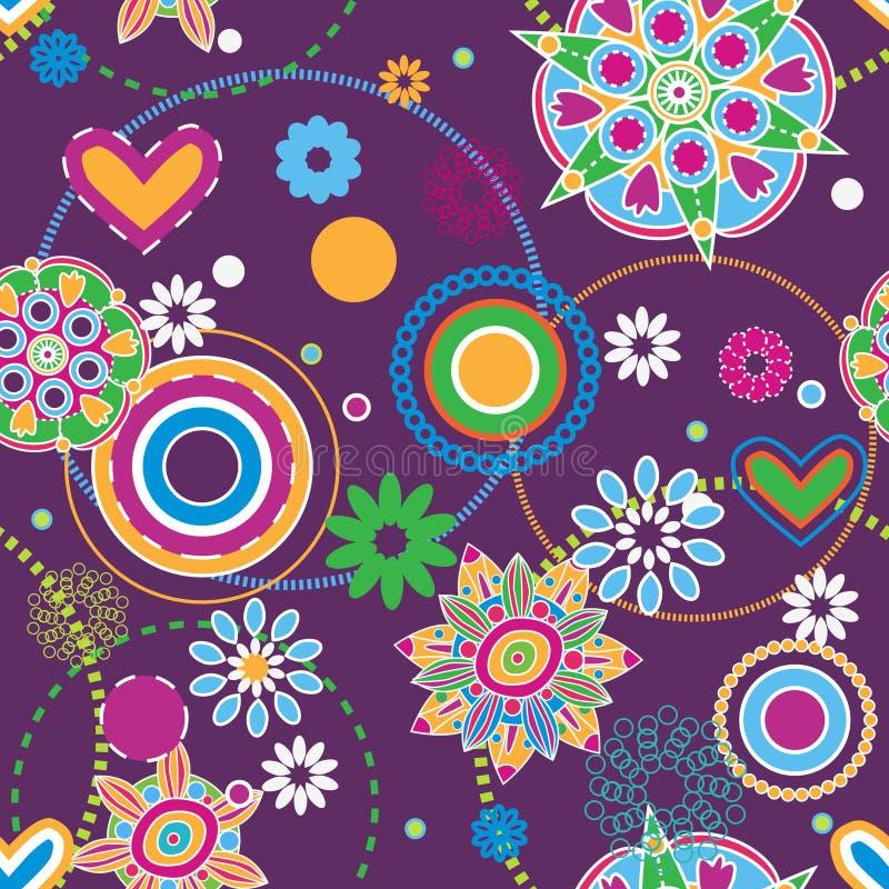 De tendens van de hippie vector illustratie