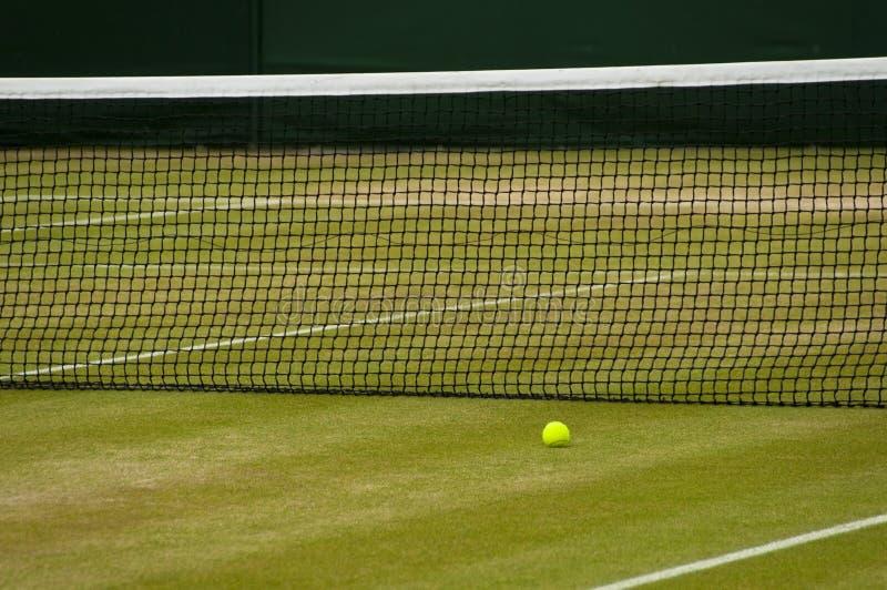 De tennisbaan van Wimbledon stock afbeeldingen